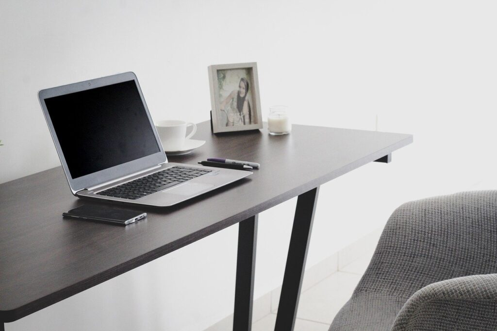 A work from home table